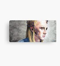 Tolkien: King of the Woodland realm Canvas Print