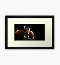 Thorin Oakenshield, King under the Mountain  Framed Print