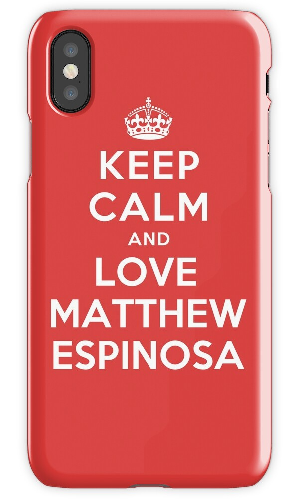 iphone 4 s cases quot keep calm and matthew espinosa quot iphone cases amp skins 8607