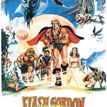 FLASH GORDON: Saviour Of The Universe by katapugon