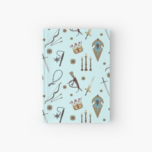 Swords & Shields & Maces, Oh My! Hardcover Journal
