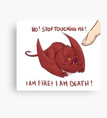 Little Smaug - Dragon Canvas Print