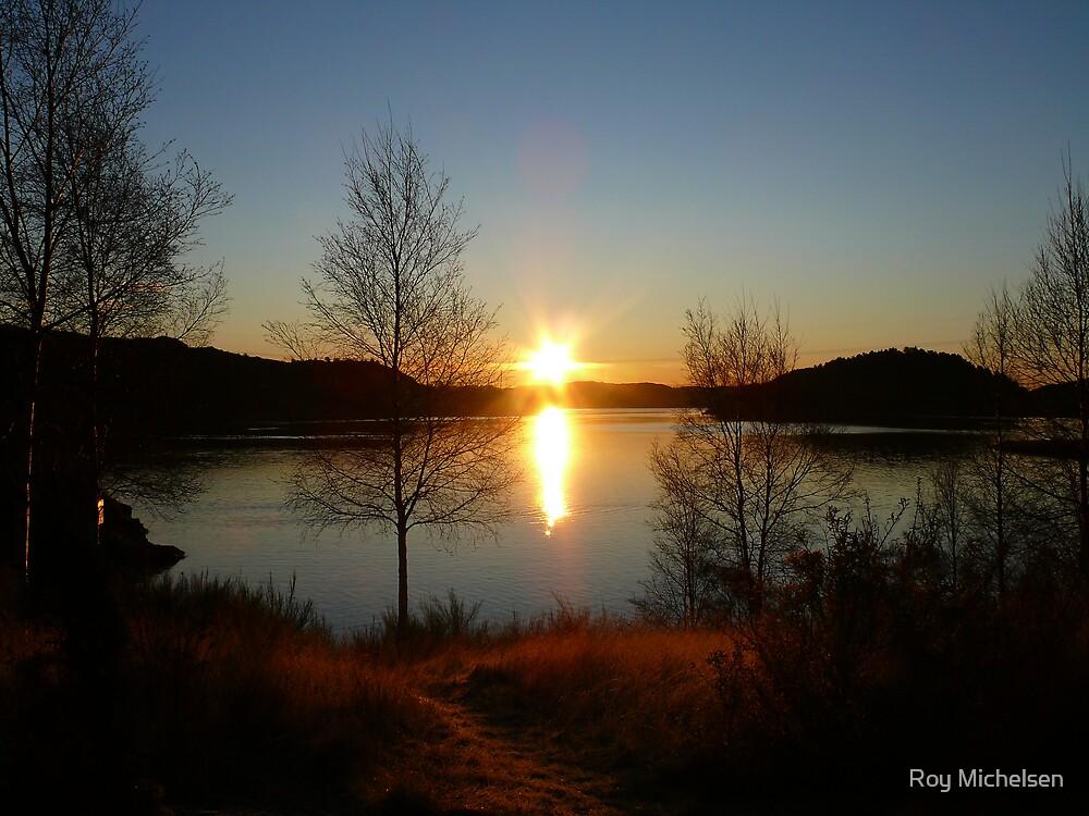 Sunrise in November by Roy Michelsen