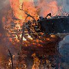 Burning ship 5 by Zvonko Jerkovic