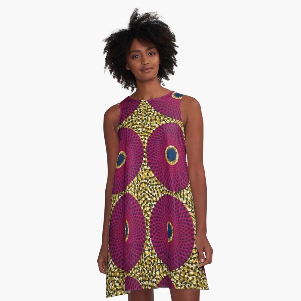 Africa fabric A-Line Dress
