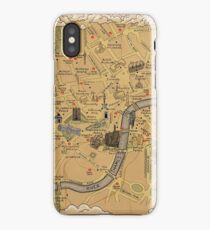 Map of London - Tolkien Inspired  iPhone Case