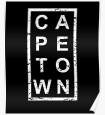 Stylish Cape Town Poster