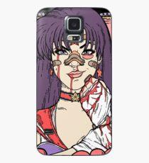 Sailor Moon - Fight Like A Sailor (Sailor Mars) Case/Skin for Samsung Galaxy
