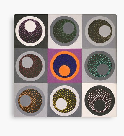 four of four Canvas Print