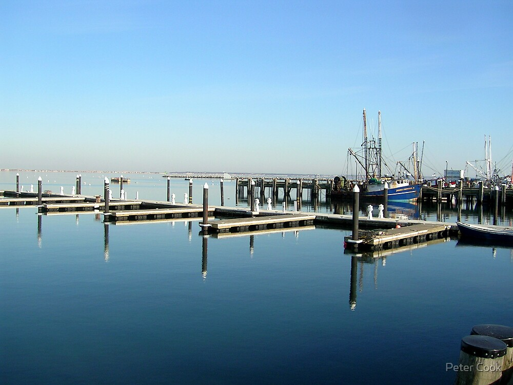 calm harbour by Peter Cook