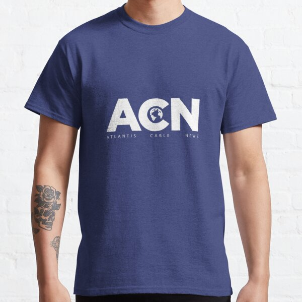 ACN. Fan Art of The Newsroom serie Classic T-Shirt