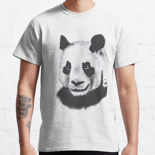 Panda - Charcoal Animals Classic T-Shirt