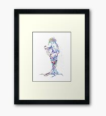 Nature fantasy girl Framed Print