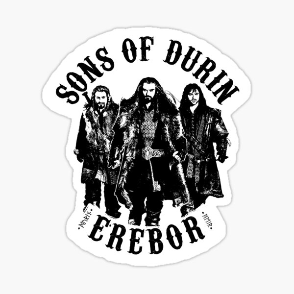 Sons of Durin Sticker