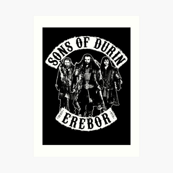 Sons of Durin Art Print