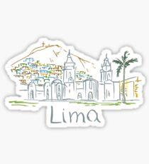 Lima Panorama Sticker