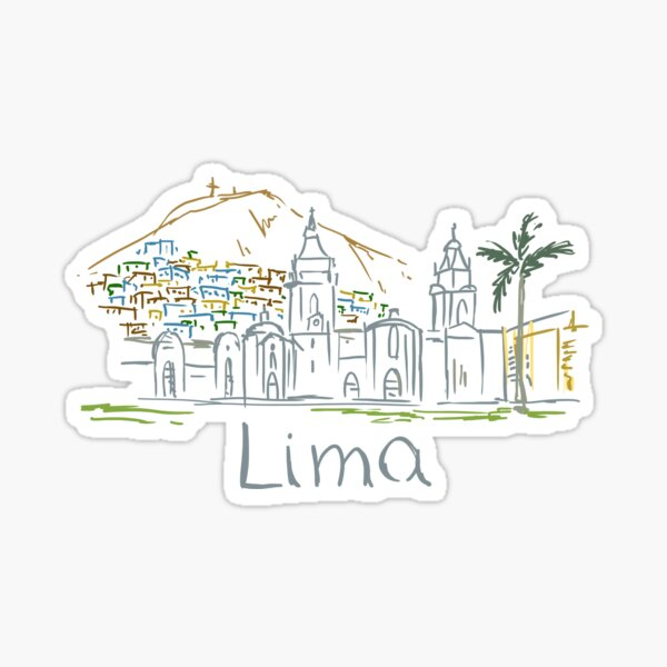 Lima Panorama Sticker