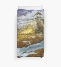 The Lonely Mountain Duvet Cover
