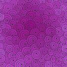 Fuchsia Spirals by Kristin Omdahl