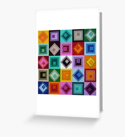 The end of colour Greeting Card