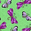 Dragonfly Green by Kristin Omdahl