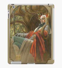 The Elf King throned iPad Case/Skin
