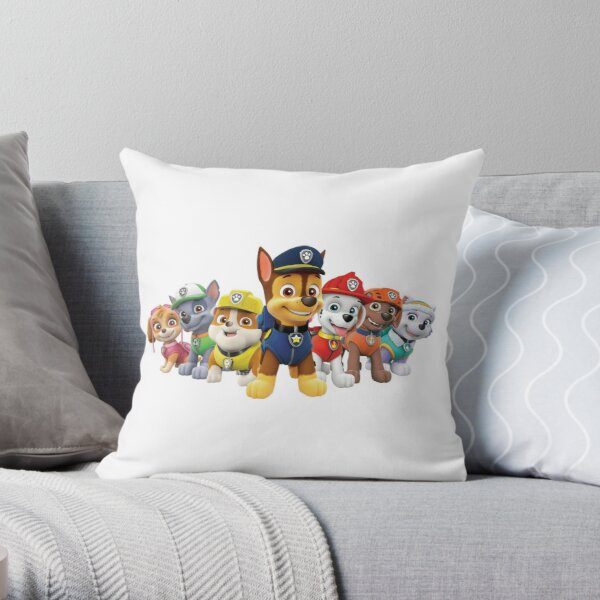 Paw Patrol Throw Pillow