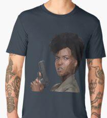 Farah Black Men's Premium T-Shirt