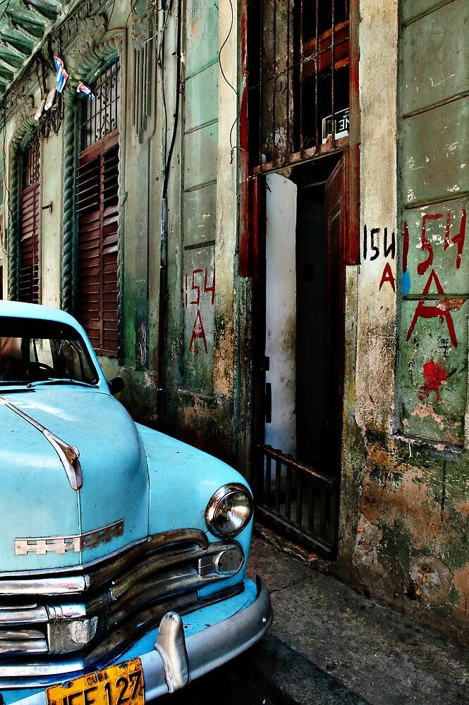 blue car by Kate Wilhelm