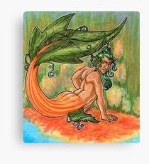 Merman O Lantern Canvas Print