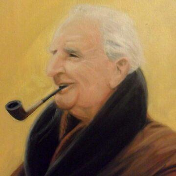 J.R.R. Tolkien by SMD83