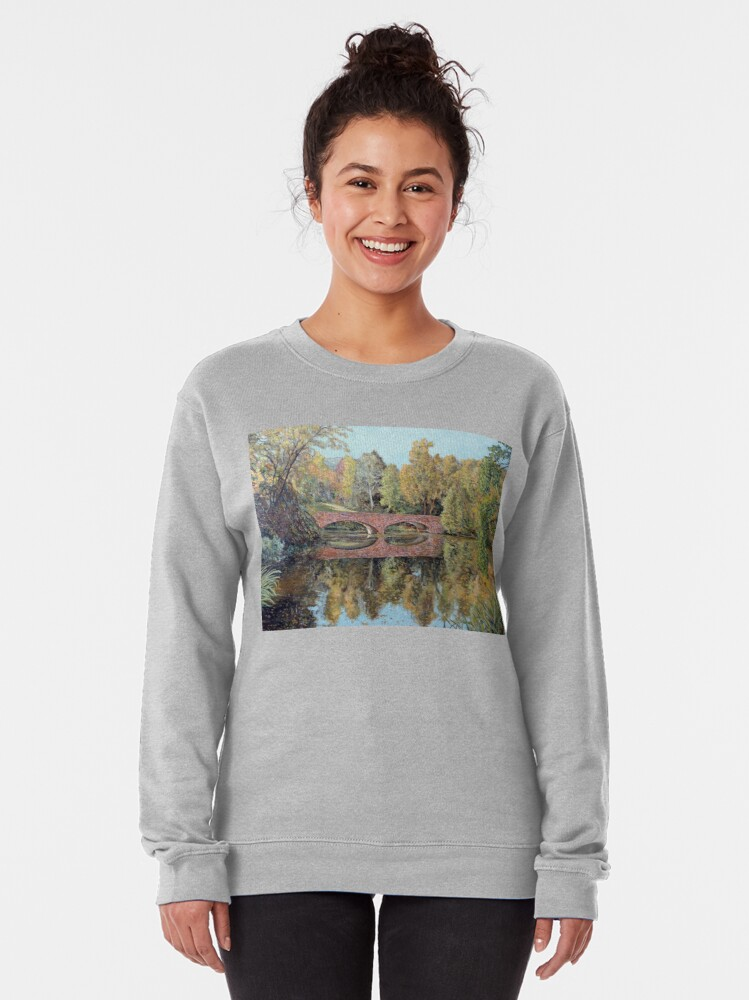 Alternate view of Varsity Lake Bridge - Late Afternoon Pullover Sweatshirt