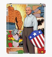 Jack Kirby, The men and the Legend. iPad Case/Skin