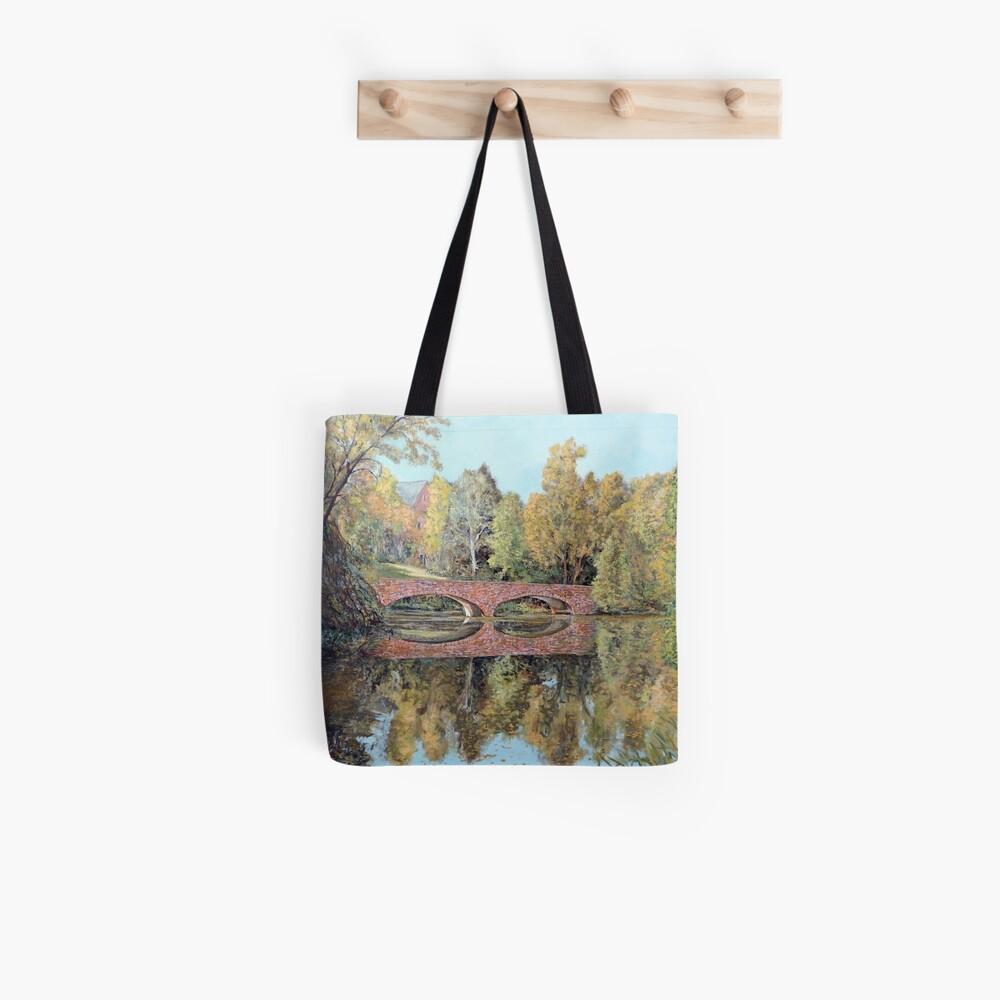 Varsity Lake Bridge - Late Afternoon Tote Bag