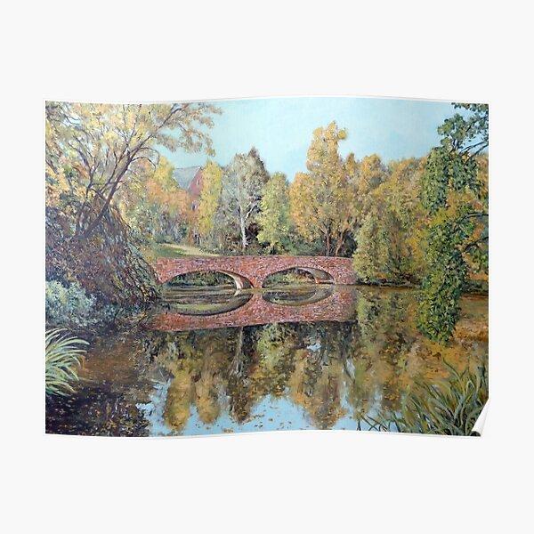 Varsity Lake Bridge - Late Afternoon Poster