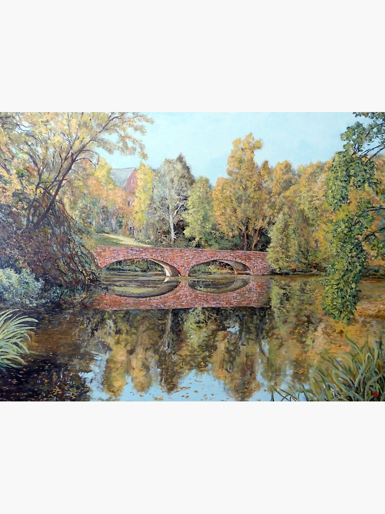 Varsity Lake Bridge - Late Afternoon by donnaroderick