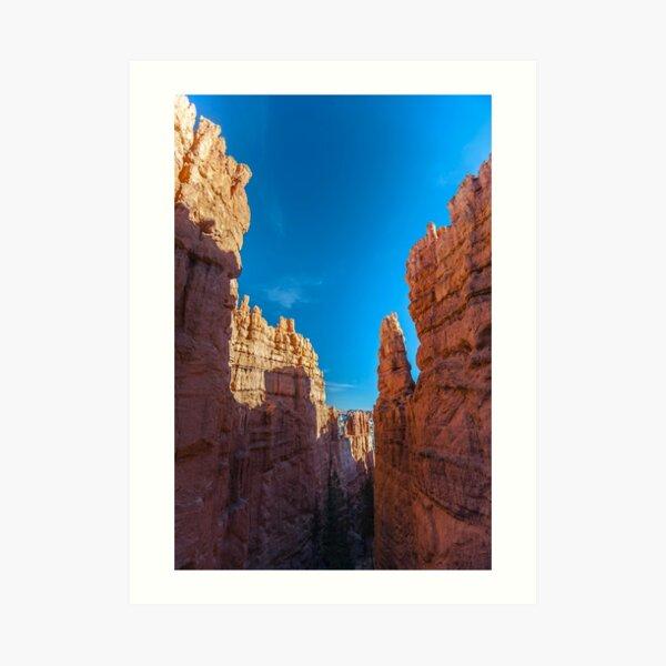 Bryce Canyon Walls Art Print