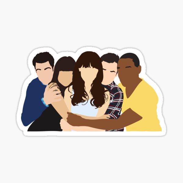 New Girl Cast Sticker