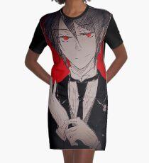 Black Butler - Sebastian Graphic T-Shirt Dress