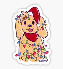 Puppy Tree Sticker