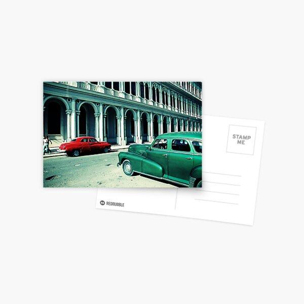 Havana cars Postcard