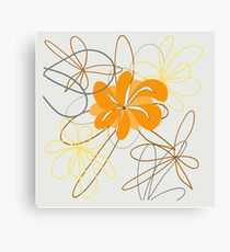 art flower abstract beauty backgrounds beautiful nature floral spring Canvas Print