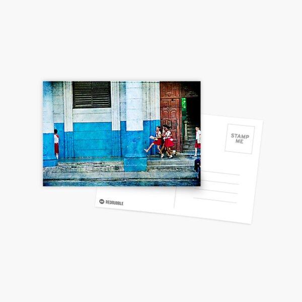 skipping Postcard