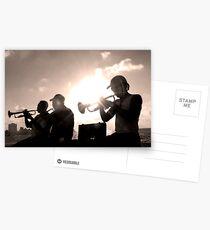 trumpeters Postcards