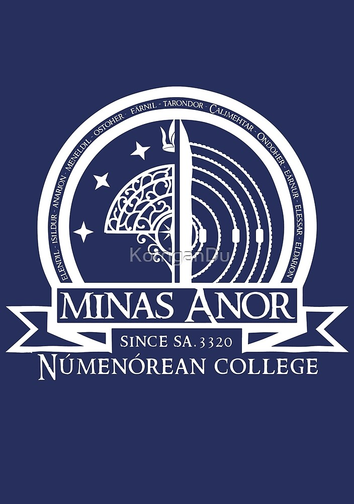 Minas Anor Numenorean College by KorriganDu