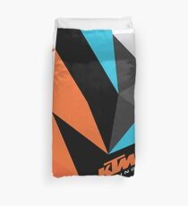 KTM Ready To Race Fractals Duvet Cover