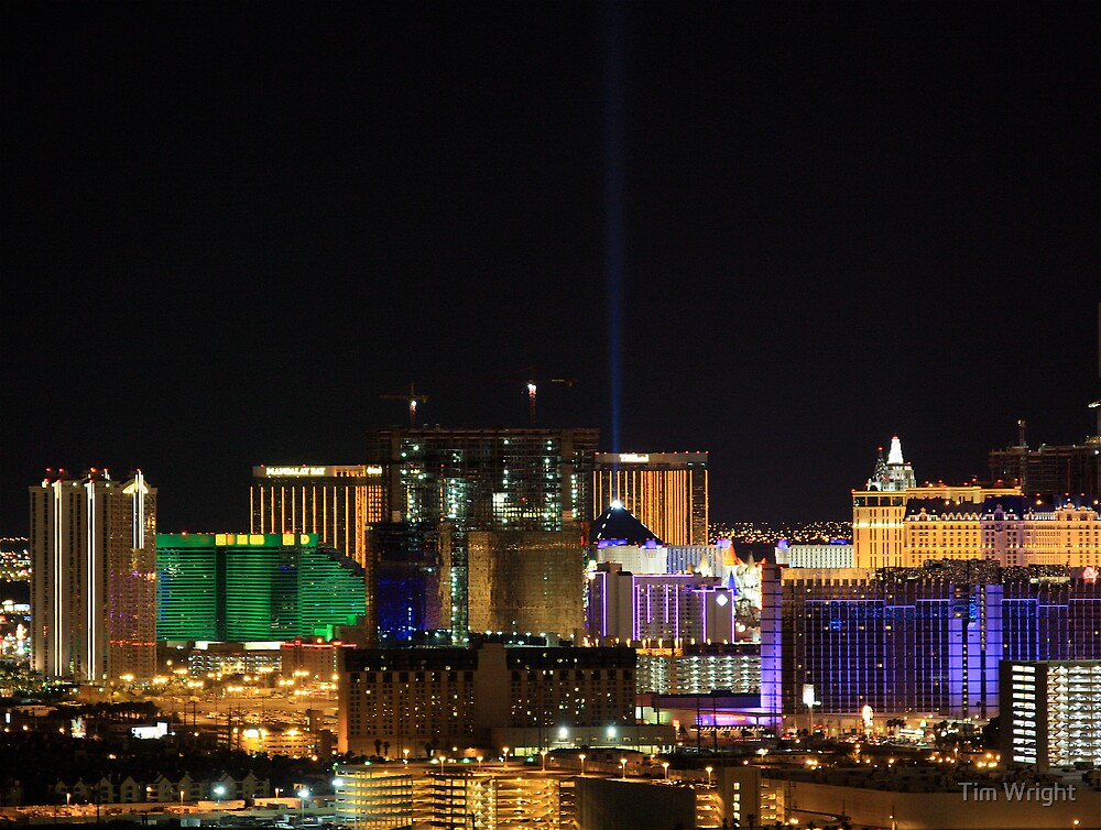 Vegas From Paradise by Tim Wright