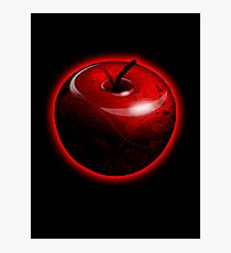 Red Shiny Candy Apple Photographic Print