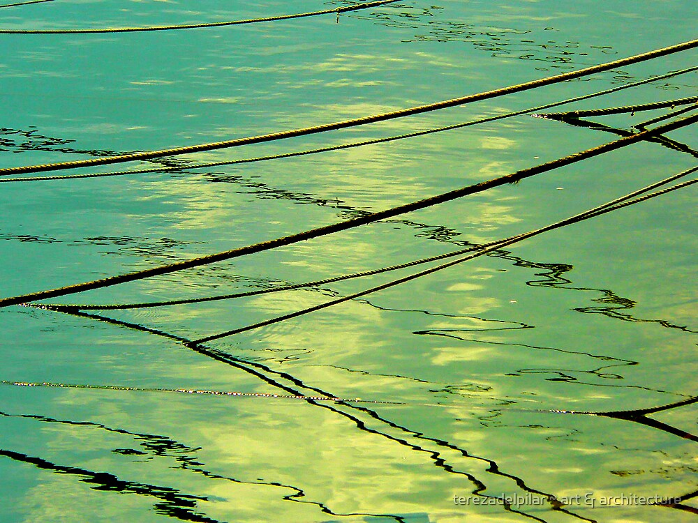 ropes can disappear in a sea of Love by terezadelpilar ~ art & architecture