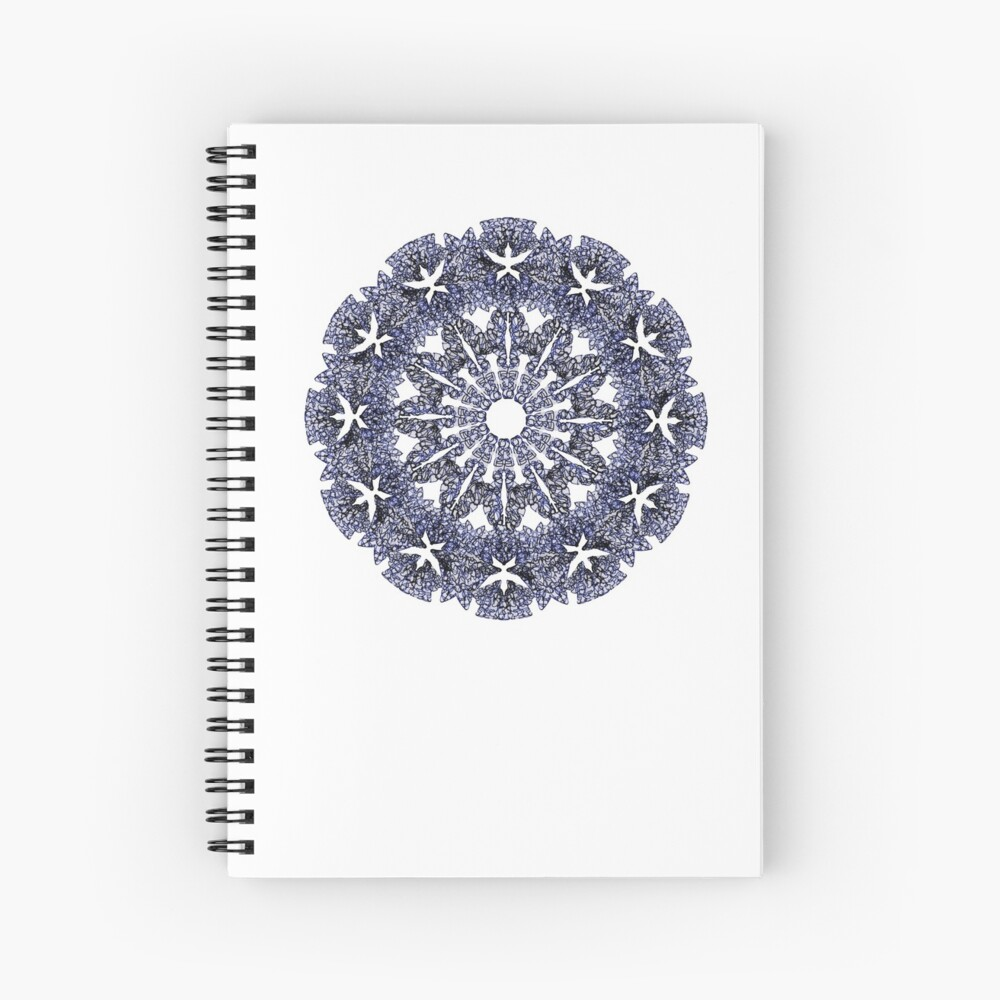 Stained Glass Mandala Cuaderno de espiral